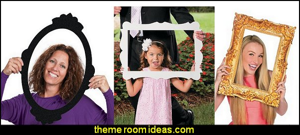 Picture Frame Cutouts fun wall decorations alice in wonderland theme bedrooms