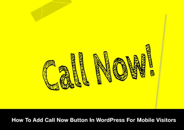 add call now button in WordPress