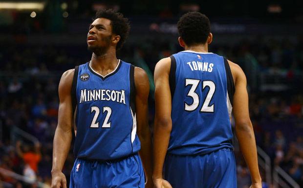Wiggins et Towns représentent l'avenir de la franchise NBA des Timberwolves du Minnesota