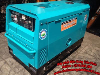 Máy phát điện Komatsu EGS120-8