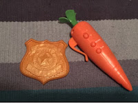 Judys Carrot Recorder and Badge