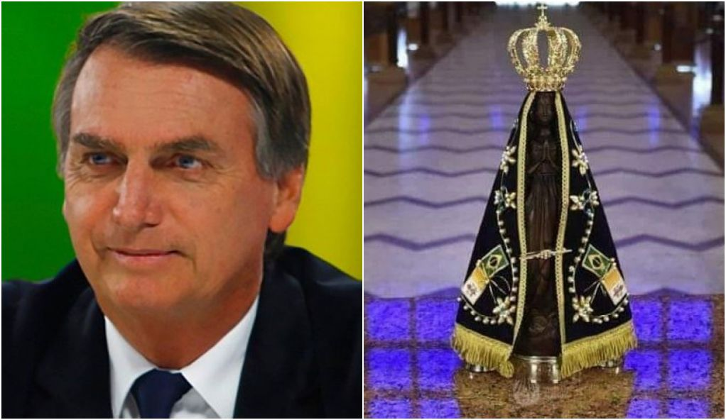 1000 Ideias Sobre Mensagem Nossa Senhora Aparecida No: É MENTIRA: Bolsonaro Não Propôs Mudar Representação De