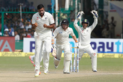 Indian Off Spinner Ashwin Is The Fastest Indian To Achieve 200 Wickets
