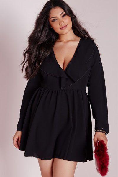 Vestidos elegantes para mujer gorda