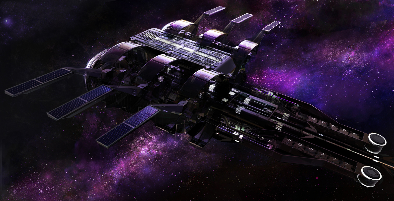 Spaceship From the Black Hole USS Cygnus - Pics about space