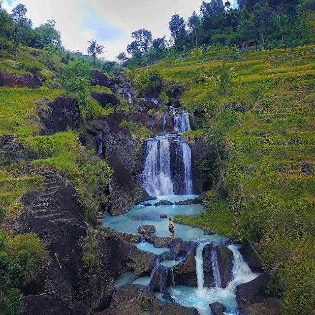 Air terjun di Jogja ini seperti di Ubud Bali