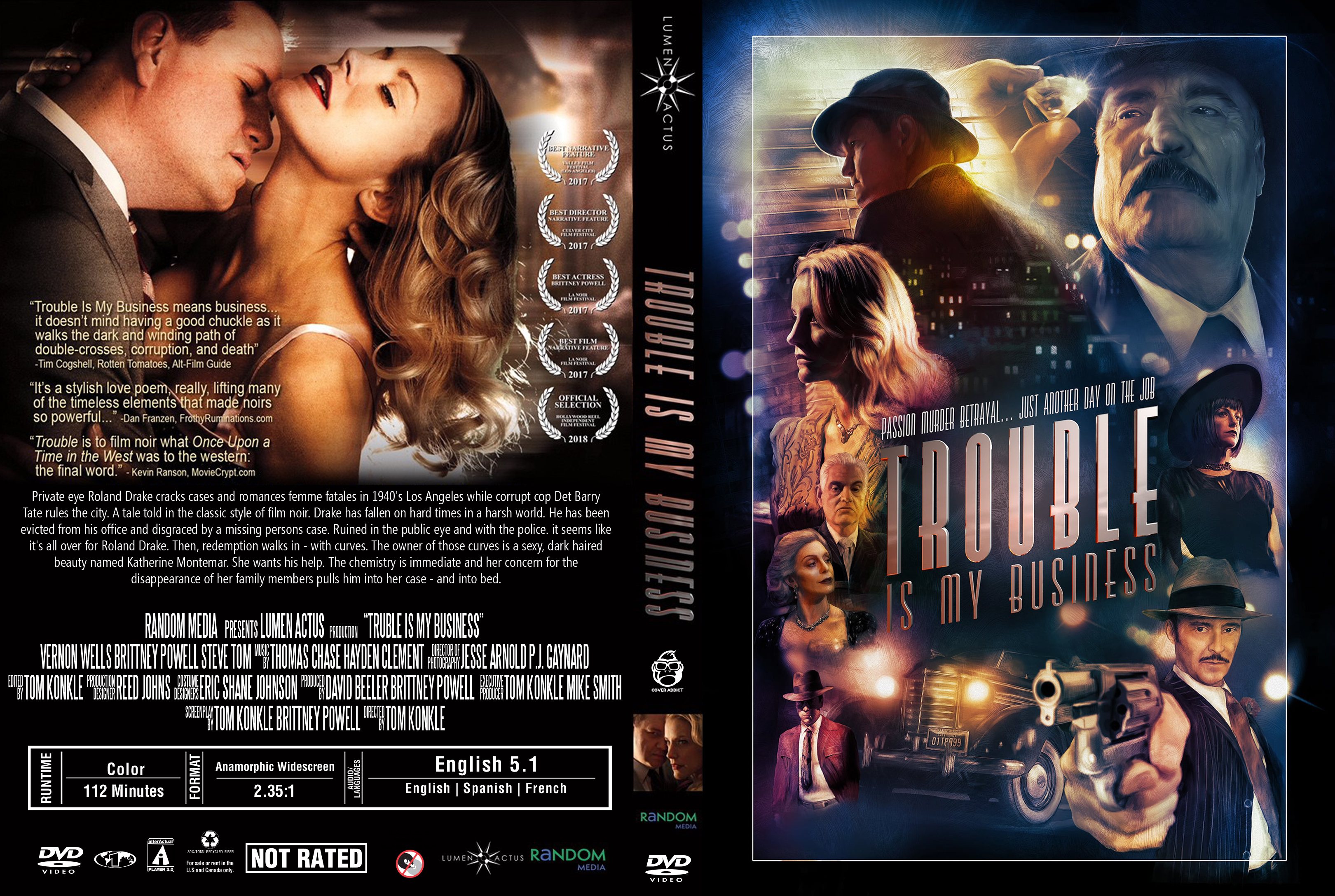 Download Film Trouble Is My Business 2018