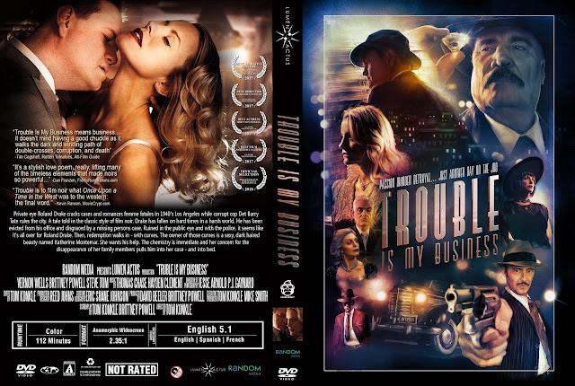 Trouble Is My Business DVD Cover