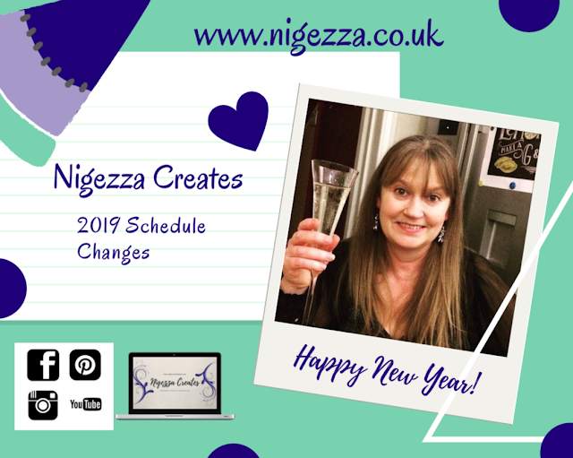 Nigezza Creates 2019 schedule
