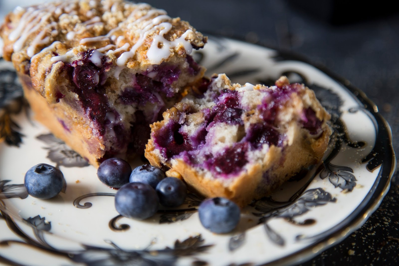 Blueberry And Walnut Cake: Bursting With Flavour