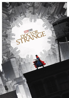 Marvel's Doctor Strange Theatrical One Sheet Movie Poster by Matt Ferguson