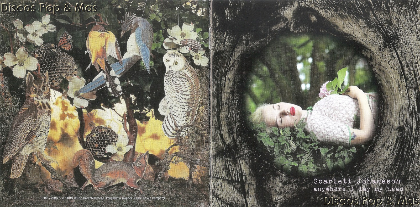 Scarlett Johansson – Anywhere I Lay My Head Lyrics ...