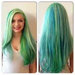 colores fantasia cabello