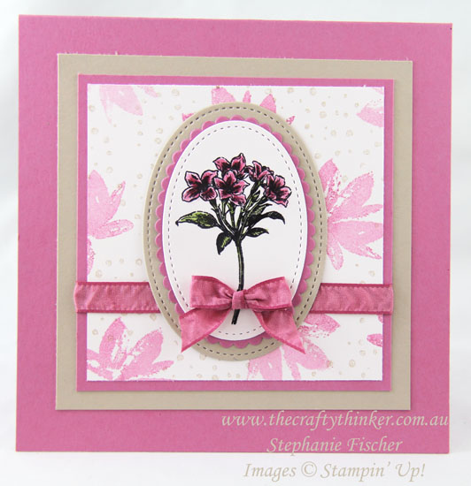 #thecraftythinker, Sale-A-Bration, Avant Garden, Stampin' Up! Australia Demonstrator, Stephanie Fischer, Sydney NSW,