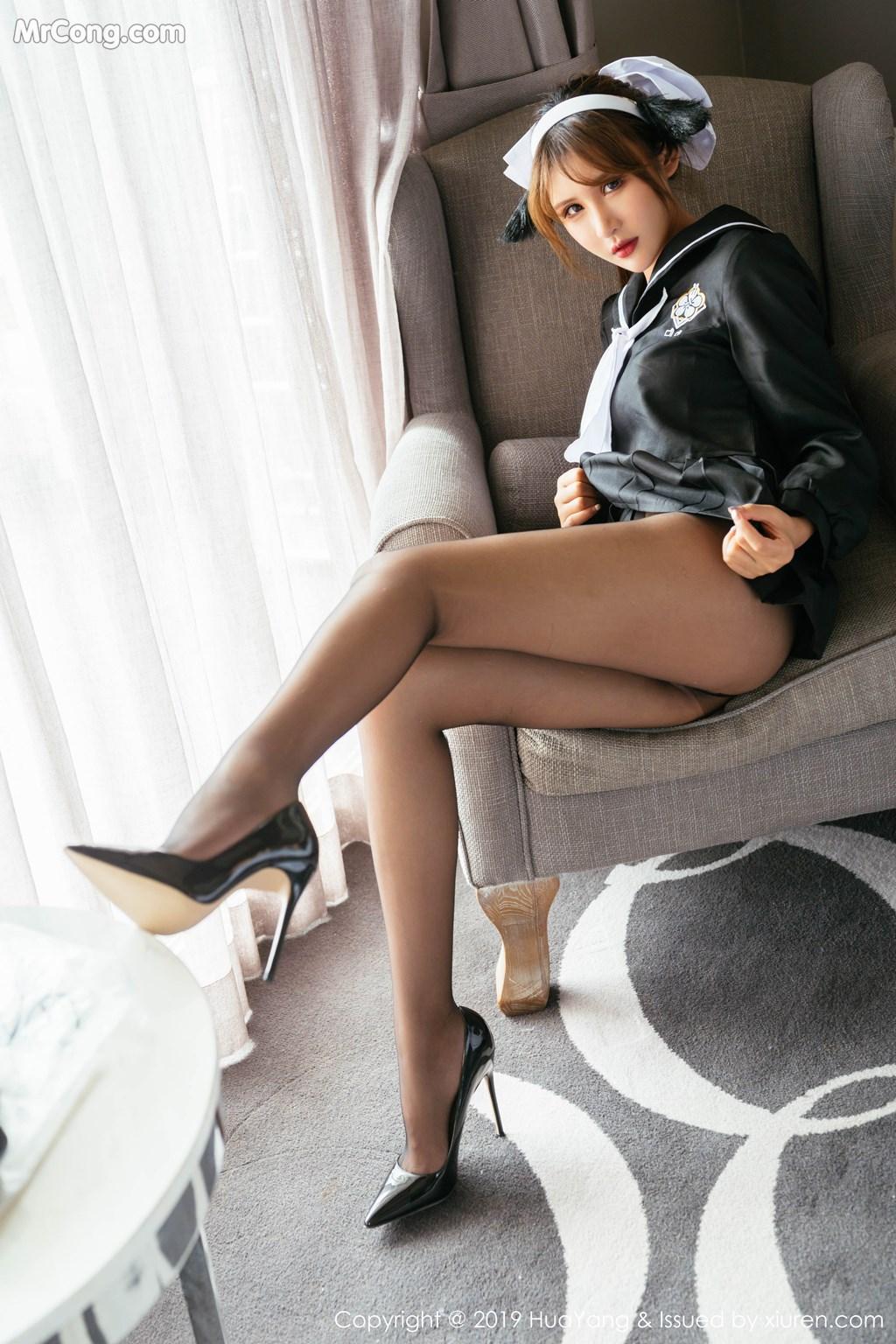 Image HuaYang-Vol.152-Emily-MrCong.com-004 in post HuaYang Vol.152: Emily顾奈奈酱 (52 ảnh)