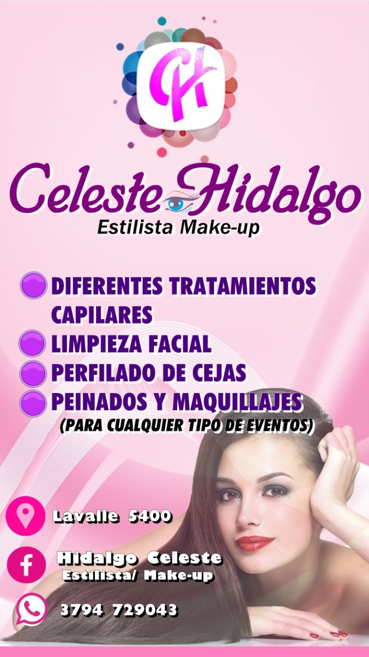 Celeste Hidalgo MAKE UP