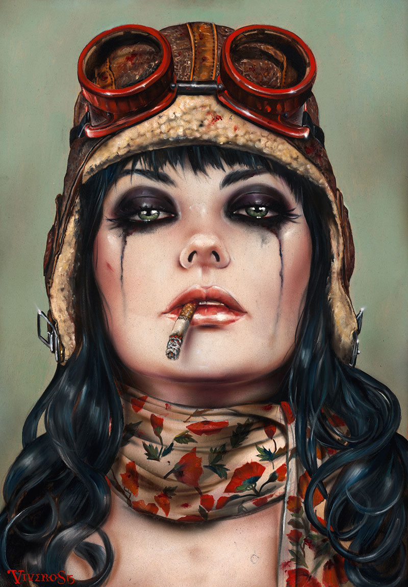 09-Aviate-Her-Brian-M-Viveros-Paintings-of-Femininity-in-the-Eye-of-the-Artist-www-designstack-co