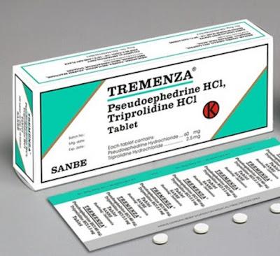 Harga Obat Tremenza Terbaru 2017 Obat Penghilang Gejala Pilek