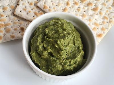 Zielone pesto na kanapki lub do makaronu