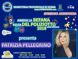 Sesta Edizione di Arriva la BEFANA Festa  DEL POLIZIOTTO CONSAP 2018