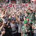 TNI-POLRI CILACAP TINGKATKAN SINERGITAS MELALUI PANGGUNG PRAJURIT
