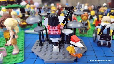 LEGO Dave Grohl on drums  Robert Wyatt