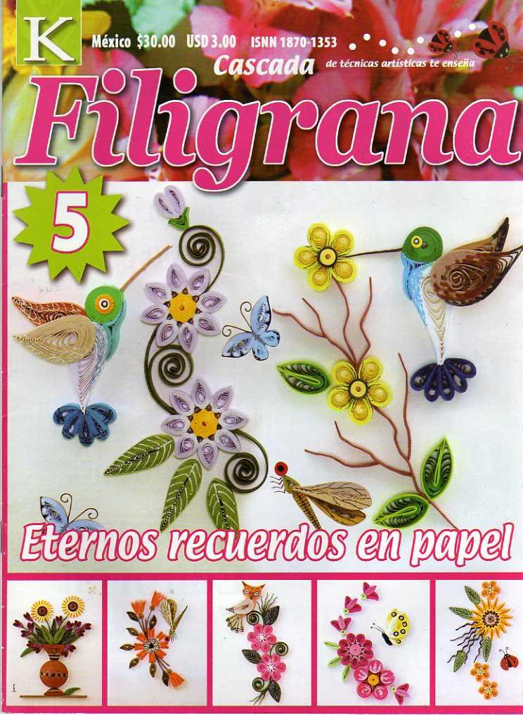 ba0abaab1f3 REVISTAS DE MANUALIDADES GRATIS  Revista Filigrana nº 5