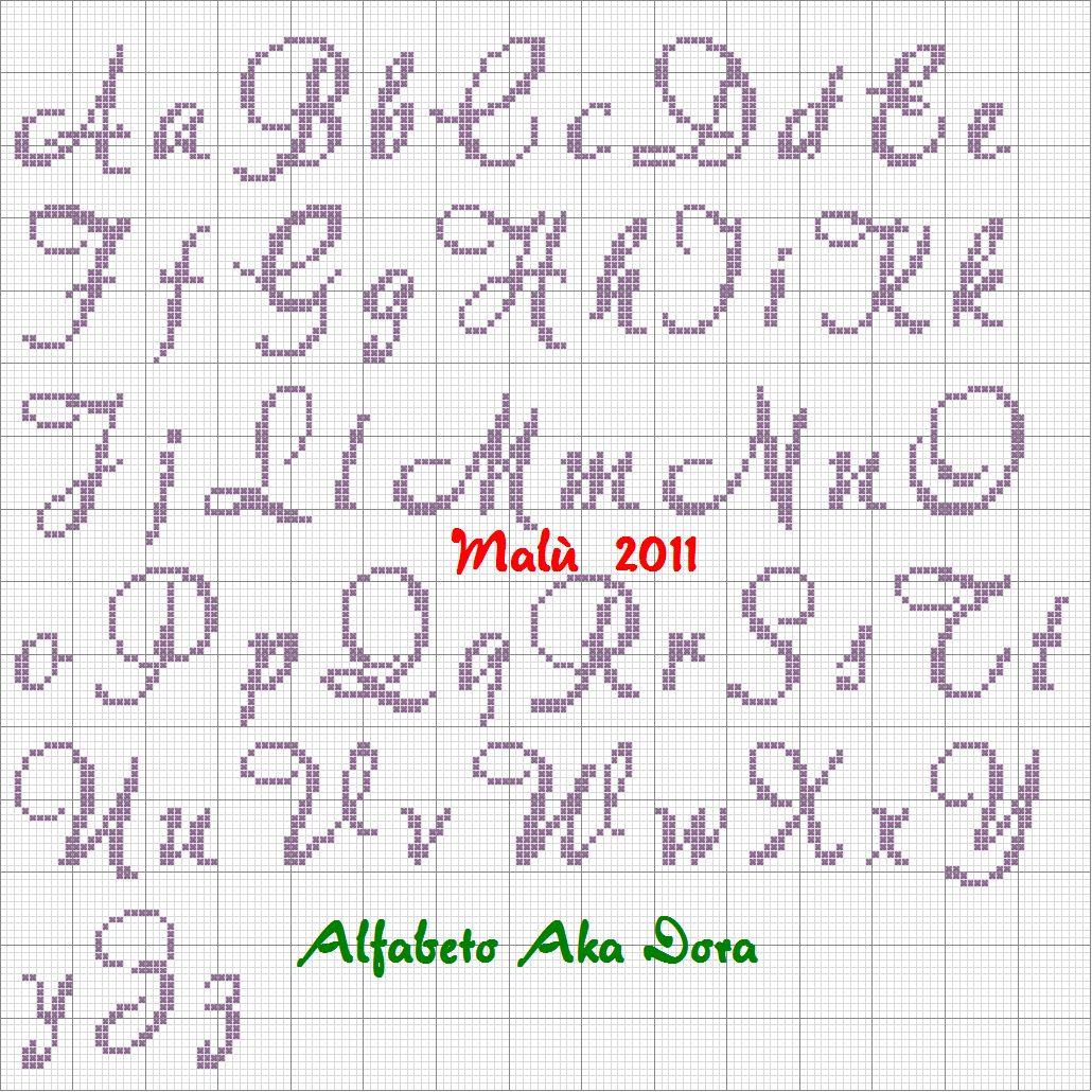 Lettere In Corsivo Punto Croce 28 Images Top Alfabeto Punto