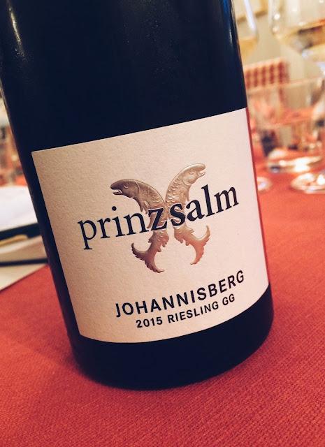 Riesling vom Weingut Prinz Salm in Wallhausen an der Nahe