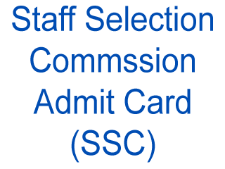 Re tier 1 ssc 2013 exam admit card download cgl