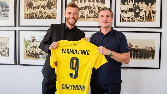 Borussia Dortmund aposta em Yarmolenko para seguir forte