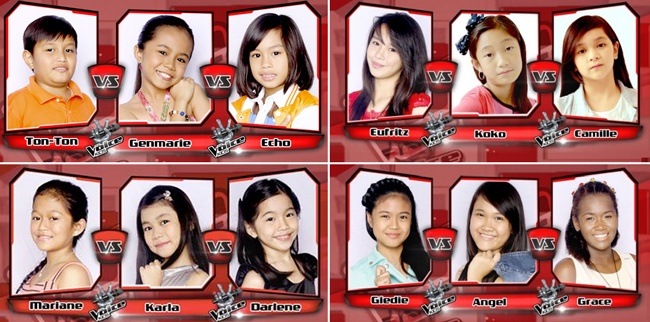 Summary of June 28, 2014 The Sing-offs for The Voice Kids Philippines