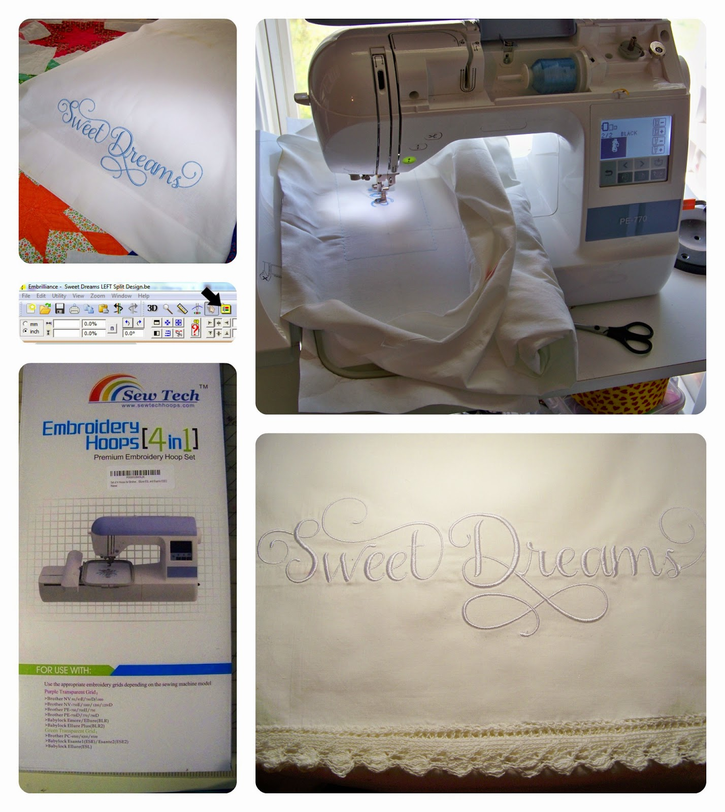 April 13, 2015  How To Use A 5x12 Jumbo Hoop On A 5x7 Machine With  Embrilliance Essentials And Howto Embroider Pillowcases