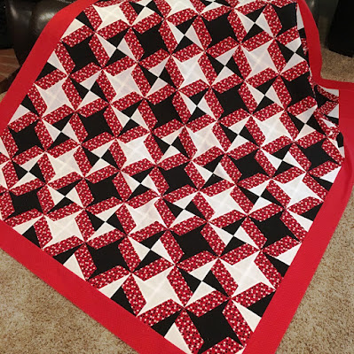 Finished BasiX Quilt Top and Ruler Tutorial!!