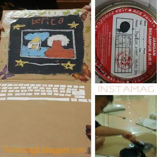 Fun Time #12 : Membuat Kreasi dari Kardus