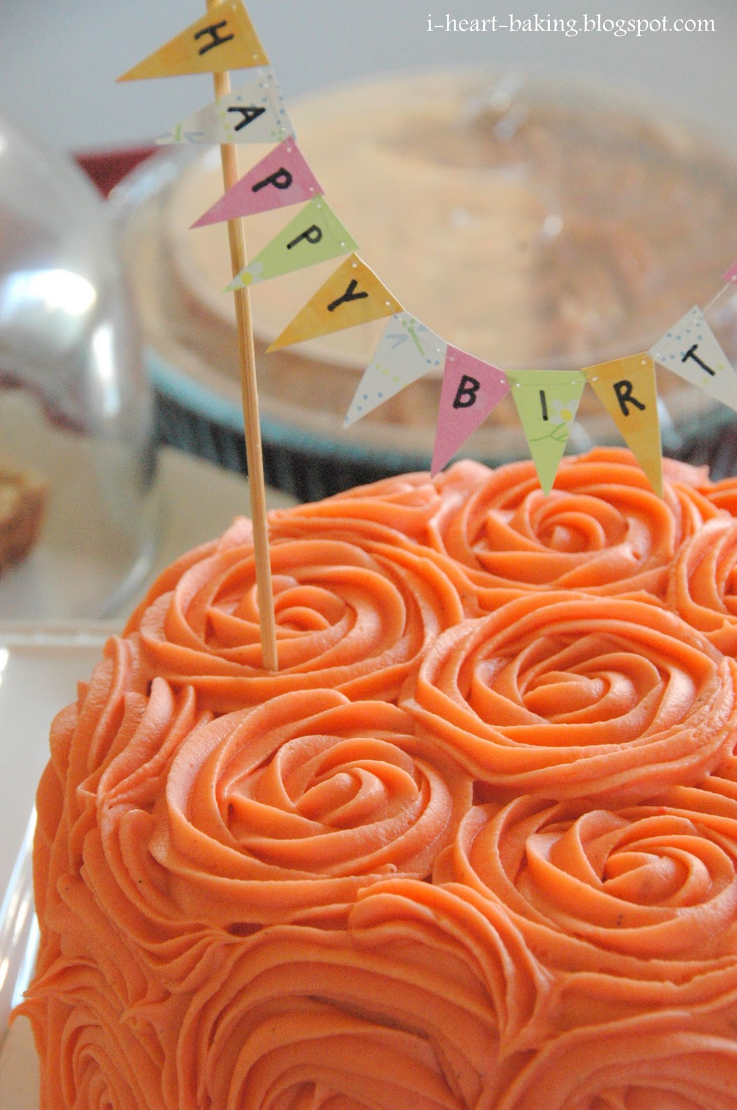 i heart baking! thanksgiving birthday cake pumpkin