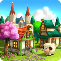 Town Village: Farm, Build, Trade, Harvest City Unlimited Gold MOD APK