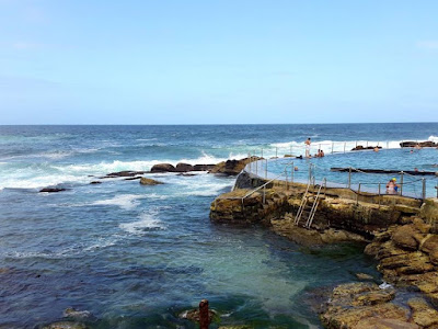13D12N Australia Trip: Bronte Beach Swimming Pool, Sydney