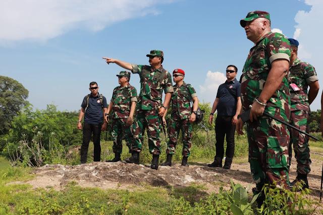 Kunjungi Pangkalan TNI AU Raci, Panglima TNI Tinjau Aset TNI di Jatim