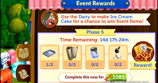 FarmVille 2: Country Escape Confectionery Event - Phase 5