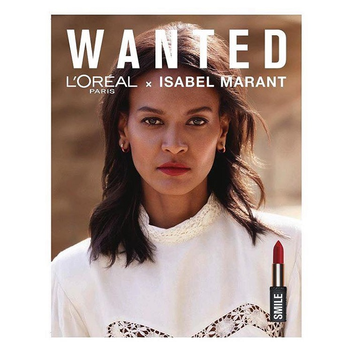 Isabel Marant x L'Oreal Paris Makeup Collection 2018