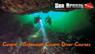Sidemount Cavern Diver