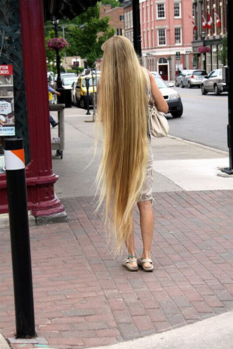 Most Amazing: Girls with very Long Hair Styles - photo#11