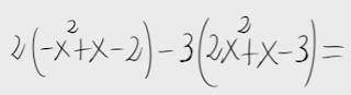 5.Combinación lineal de polinomios