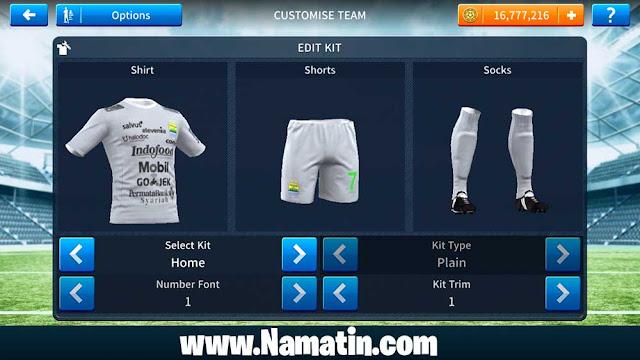 Baju Dream League Soccer Persib Kiper