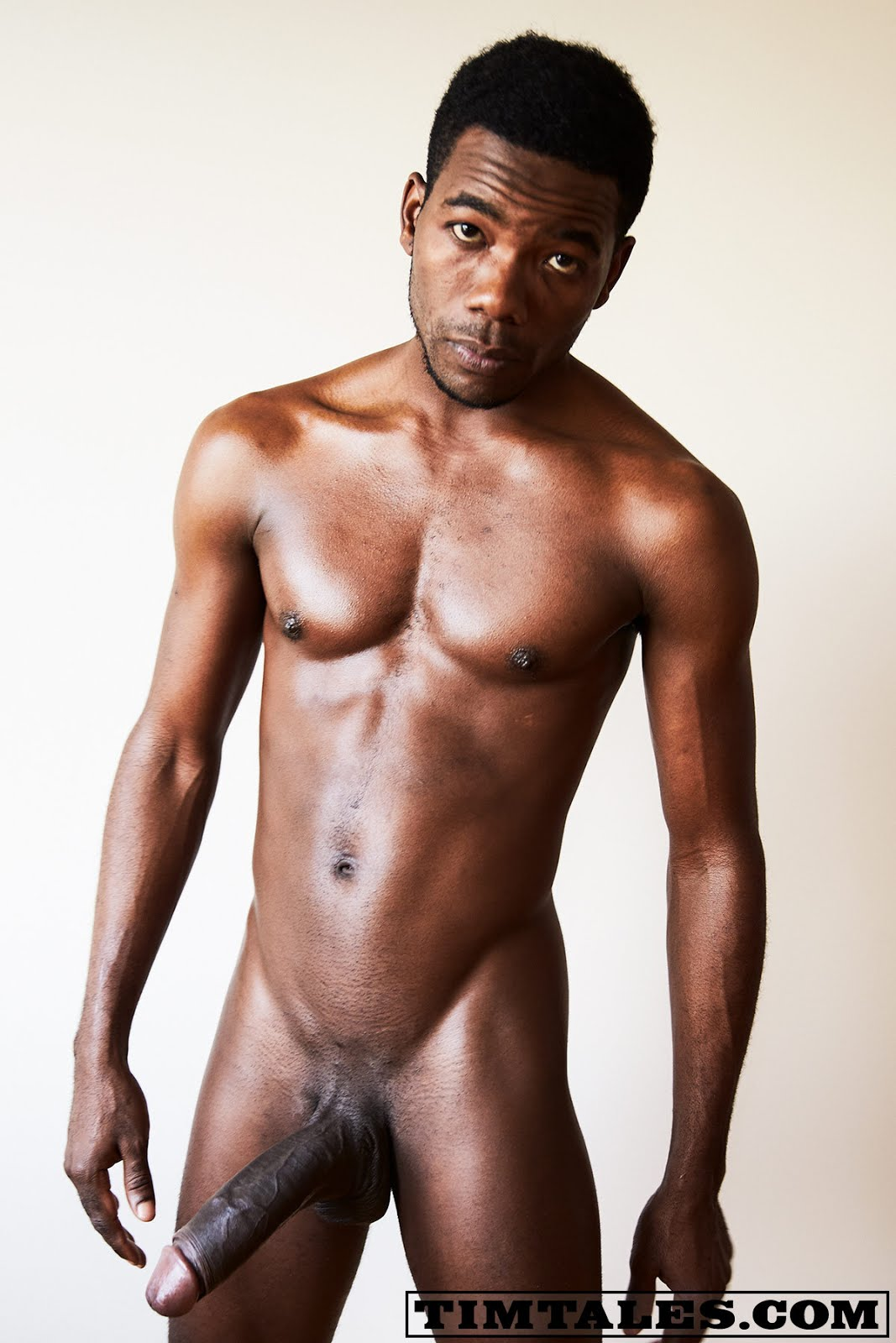 black naked men african