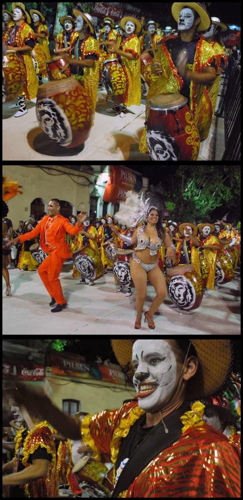 Desfile de Llamadas. Kimbara Comparsa.