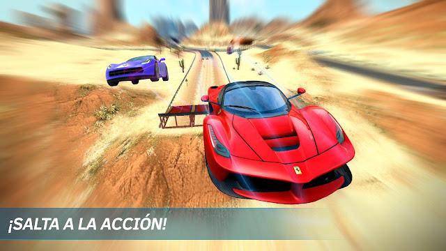 تحميل لعبة Asphalt Nitro سباق السيارات الجديده للأندرويد