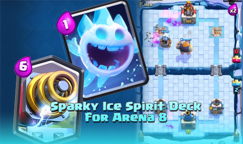Strategi Deck Sparky Ice Spirit Untuk Arena 8 Clash Royale