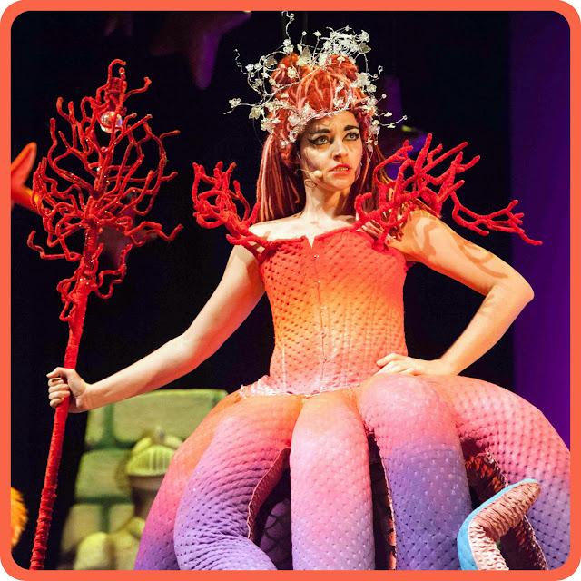 Fría, la bruja del Teatro Musical La Sirenita